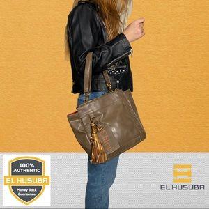Chloe tote bag eden leather Brown